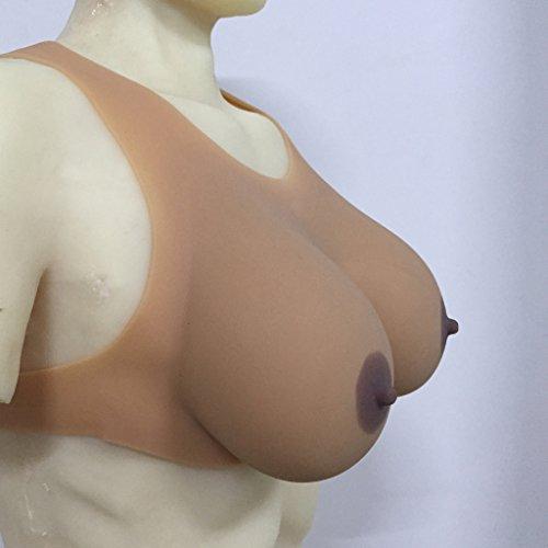 "Crossdresser Breast Forms - ""Huge Boobs"""