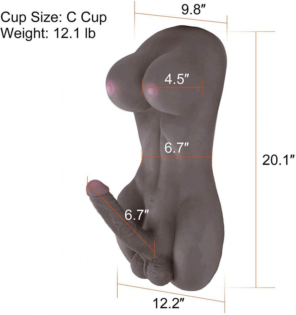 Gay Men's Sex Doll - Blacak